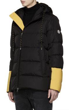 Moncler Black Down Drake Jacket from SSENSE (men, style, fashion, clothing, 3db20066749