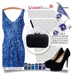 """""""Blue and Black"""" by belmina-v ❤ liked on Polyvore featuring POLICE"""