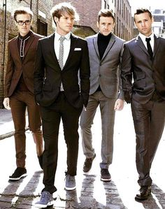 My McFly boys are looking very dapper lately! (Tom, Dougie, Danny, & Harry)