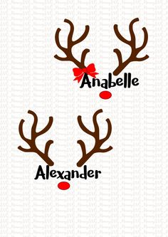 Reindeer Antlers, Christmas SVG, Cut Files, Cricut, PNG, Silhouette SVG, Boy, Girl by SVGmommy on Etsy https://www.etsy.com/ca/listing/481766542/reindeer-antlers-christmas-svg-cut-files