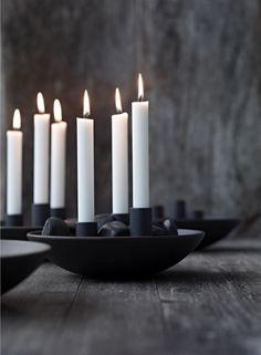 Nuance Cast Iron Candle Holder - House&Hold