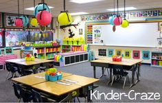 I am so happy to finally share my BRAND NEW Kindergarten classroom with you! My school moved into a new (to us) building this summer and life at school has been interesting, to say the least! Kinde...
