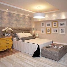 Saiba tudo sobre cor cinza no quarto de casal. Entertainment Center Kitchen, Top 5, Picture Design, Home Decor Wall Art, Business Design, Sweet Home, House, Furniture, Bedrooms