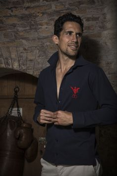 Polo Chemise France 1920 - Look Homme / Rugby vintage : http://www.sports-depoque.com/