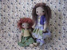 https://flic.kr/p/ddMQCU | VictoriaWigs1 | These beautiful wigs, and the lovely outfit on the right, were made by the totally talented Victoria DiPietro.  The wigs are amazing, so soft and so much like real hair.  I am delighted how they make my girls look :-) ☆