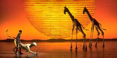 The Lion King on Broadway.
