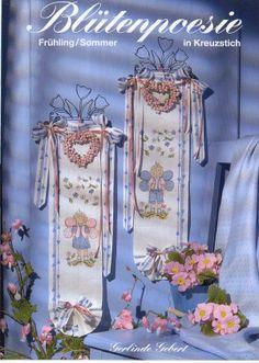 """"""" Blütenpoesie """" Art.-Nr. 969 Design: Gerlinde Gebert Shop: www.gebert-handarbeiten.de"""