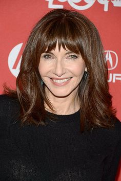 Medium Length Hairstyles With Bangs For Women Over 50
