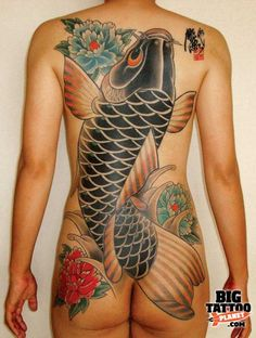 irezumi tattoo | Horitada - Irezumi & Rockabilly - Colour Tattoo | Big Tattoo Planet