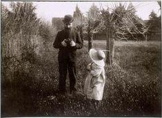 Pierre Bonnard, Vuillard tenant son appareil Kodak, et Renée