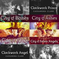 I love the mortal instruments series and the prequel infernal devices trilogy! Very good books!