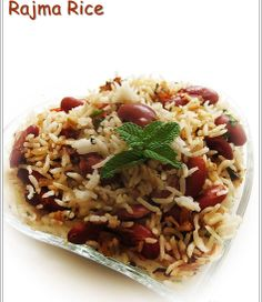 Rajma Rice is the most famous north indian delicacy made with red kidney beans cookes ina delicious gravy serverd with hot steaming rice.  Contact No: 02226865087 / 9323877002
