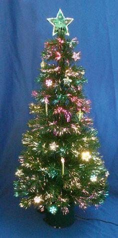 ☀ Tree Sale ☀ 7 Ft LED Fiber Optic Christmas Tree December  - 7 Ft Fiber Optic Christmas Tree Sale