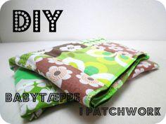 Patchwork babytæppe