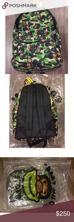 347b7bf1720 A BATHING APE/ Baby Milo Day Pack 100% authentic and brand new. Purchased