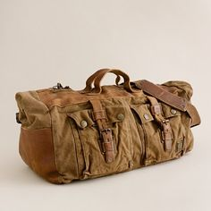 Could have this duffle packed in less than 20 minutes for a roadtrip...