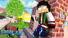 Minecraft: PRIMEIRO DIA DE AULA #01 (VIDA ESCOLAR )