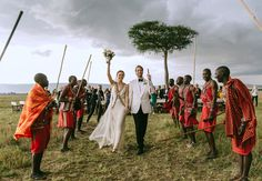This Wedding In Kenya Will Seriously Take Your Breath Away!  | Jonas Peterson | The Knot blog