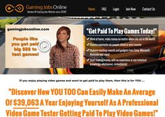 Video Game Job | rugaf Game Tester Jobs, Games Today, Being In The World, Online Jobs, How To Make Money, Video Games, Gaming, Videogames, Video Game