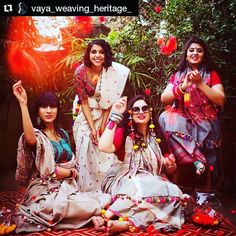 #Repost @vaya_weaving_heritage_ with @repostapp ・・・ Effervescent hues resonate color and sparkling joy in this vivacious collection of cotton sarees. Perfect for a day out, each saree reflects the verve and vitality of youth. This quirky and eclectic...