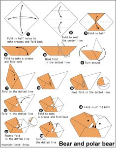 3d origami snake instructions