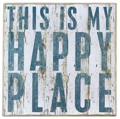 This Is My Happy Place ~  Need this for my garden!!