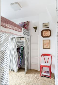 Think about it — the single most floor-hogging piece of furniture in a small apartment is the bed. The good news is that you can free up a ton of space for daytime activities by raising up your bed and making room for other stuff underneath it. While some of you may be lucky enough to have an apartment with a built-in loft (we're jealous), in this post we're focusing on homes with loft beds that you can either buy or DIY, so even renters can find some inspiration for transforming their…