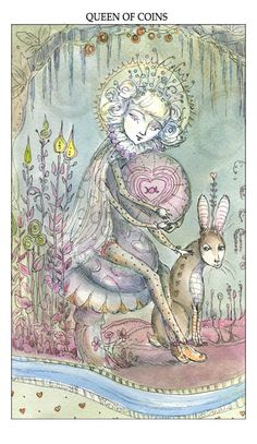 Joie de Vivre Tarot by Canadian artist Paulina Cassidy Paulina now lives in Chattanooga, Tennessee with her husband. She has a website and i...