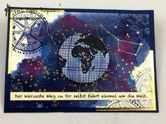 jpp - Weltweisheiten! Motivations Mini Album / motivation album / watercoloring / aquarellieren / Stampin' Up! Berlin / Liebe ohne Grenzen / Going Global www.janinaspaperpotpourri.de