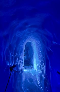 Hintertuxer Gletscher - Hintertux Glacier - Ice Cave - Eispalast