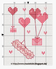 макси вышивки: халява Cross Stitch Needles, Cross Stitch Heart, Cross Stitch Cards, Wedding Cross Stitch Patterns, Cross Stitch Designs, Blackwork, Valentine Heart, Valentines, Gifts For Wedding Party