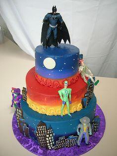 Batman & Villians  Cakes