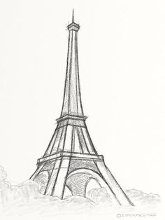 Easy-and-Beautiful-Eiffelturm Zeichnung und Skizzen Easy-and-Bea . - Easy-and-Beautiful-Eiffelturm Zeichnung und Skizzen Easy-and-Bea …, # - Easy Pencil Drawings, Art Drawings Sketches Simple, Beautiful Drawings, Cute Drawings, Drawing Ideas, Drawing Tips, Beautiful Pictures, Quick Easy Drawings, Sketch Drawing