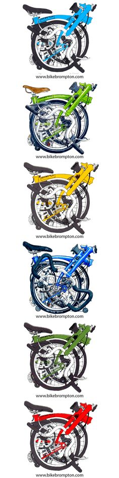 DIANA POWELL ILLUSTRATIONS #brompton