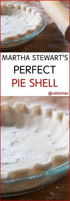 Martha Stewart's Perfect Pie Shell – If you want to know how to make a pie crust… – Food's Pie Dough Recipe, Pie Crust Recipes, Pastry Recipes, Pie Pastry Recipe, Martha Stewart Recipes, Best Pie Crust Recipe Martha Stewart, Martha Stewart Pizza Dough, Martha Stewart Cheesecake, How To Make Pie
