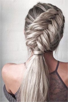 Easy, Stylish Braided Hairstyles for Long Hair , Inspired Creative Braided Hairs. - Easy, Stylish Braided Hairstyles for Long Hair , Inspired Creative Braided Hairstyle - Easy Braided Hairstyles For Long, Cool Braid Hairstyles, Summer Hairstyles, Straight Hairstyles, Wedding Hairstyles, Long Haircuts, Hairstyle Braid, Hairstyles Haircuts, Hairstyle Ideas