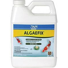 32oz Pond Care Algae Fix effectively controls many types of green or green water algae, string or hair algae and blanket weed in ponds that contain live plants. Controls existing algae and helps resolve additional algae blooms. Keeps ornamental ponds