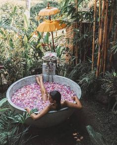 holiday places 10 Most Unique Places to Stay in Bali, Indonesia. From Tree houses, to flower baths and rice paddies, this Bali accommodation is the best! Bali Travel Guide, Asia Travel, Travel Tips, Places To Travel, Travel Destinations, Places To Go, Bali Accommodation, Tree House Accommodation, Bali Retreat