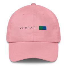 Classic pink low-profile Cap