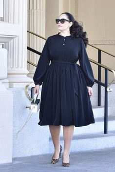 Girl With Curves Collection - – Plus Size Fall Dresses – Ideas of Plus Size Fall Dresses - Plus Size Fall, Looks Plus Size, Moda Plus Size, Big Size Dress, Plus Size Dresses, Plus Size Outfits, Fancy Dress, Curvy Girl Outfits, Curvy Girl Fashion