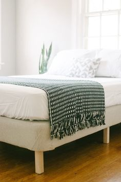 Try This DIY Project!: Turn an Old Box Spring Mattress into Stand Alone Bed Frame — APARTMENT THERAPY READER PROJECT TUTORIALS