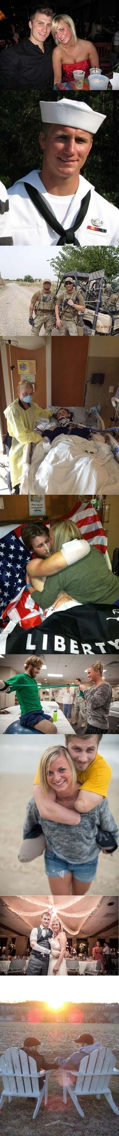Taylor and Danielle Morris show that true love can overcome any obstacle. | The 35 Most Touching Photos Ever Taken