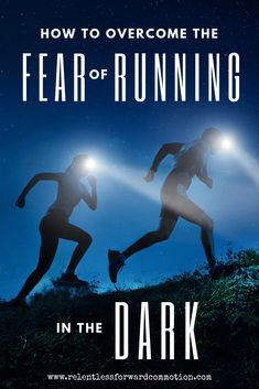 If you've got an overnight ultramarathon or relay race coming up, the reality is: you're GOING to be running in the dark. Here are 5 tips to get over your fear of running in the dark. Ultra Marathon Training, Race Training, Training Plan, Running Training, Running Tips, Trail Running, Training Equipment, Marathon Tips, Marathon Running