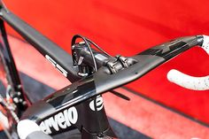 Cervélo S5 aero handlebar at Bikemotion 2014 | Racefietsblog.nl
