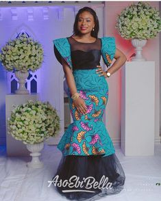 Classy picture collection of Beautiful Ankara Skirt And Blouse Styles These are the most beautiful ankara skirt and blouse trending at the moment. If you must rock anything ankara skirt and blouse styles and design. Lace Skirt And Blouse, Ankara Skirt And Blouse, Ankara Dress Styles, Trendy Ankara Styles, Blouse Styles, Ankara Tops, African Dresses For Women, African Attire, African Fashion Dresses