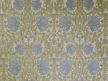 Brockhall Designs Pugin Cornflower Jacquard Fabric - Curtains & Upholstery - The Millshop Online #fabric