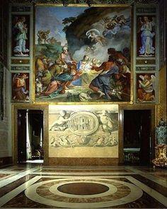 Quirinale Palace, Ambassadors Hall ,Rome, Italy