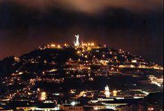 Panecillo Hill and the Virgin, Quito, Ecuador
