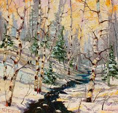 Winter Waltz by Patrick Matthews