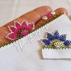 @marifetlieller42 👈  #igneoyasimodelleri #sunum #elemeği #göznuru #ceyizlik #havlu #mutfakhavlusu #namazörtüsü #tülbent #igneoyasi… Diy And Crafts, Embroidery, Floral, Flowers, Model, Jewelry, Instagram, Herbs, Punch Needle